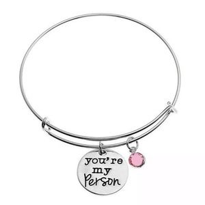 "NWOT ""you're my person"" Charm Bracelet"